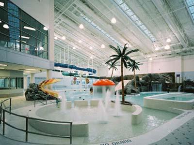 Germantown indoor swim center forrester construction for Indoor swimming pool construction