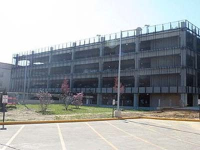 U.S. Census Bureau Parking Structures