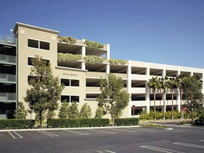 Chapman University Center Street #3 Parking Structure