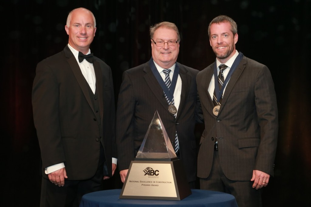 Forrester Receives ABC National Excellence In Construction Award