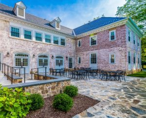 Foxcroft School Welcome Center | Courtyard