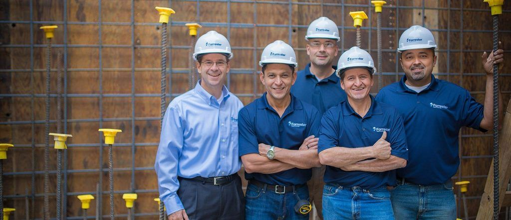 Meet the Faces of Forrester Construction Company