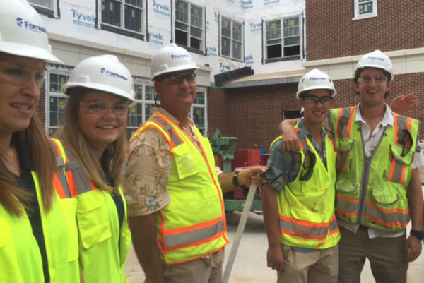 Internship-Program-Site-Tour-Forrester Construction
