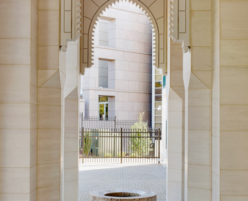 Chancery of Morocco architecture