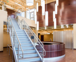 Minimally Invasive Vascular Care Center Lobby Stair
