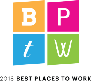 Forrester Construction 2018 Best Place to Work Washington Business Journal