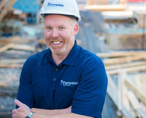 Mike Barnhart Executive Team Forrester Construction