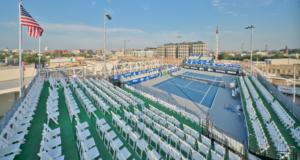 Union Market Rooftop Tennis Court